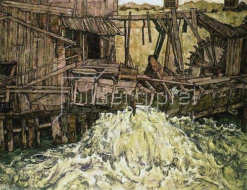 Egon Schiele: Die Mühle. 1916