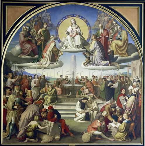Johann Friedrich Overbeck: Der Triumph der Religion in den Künsten (Das Magnificat der Kunst).