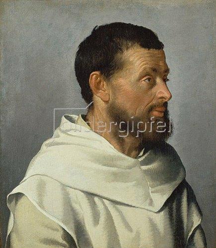 Giovanni Battista Moroni: Bildnis eines Laienbruders. Ca. 1559-1560.