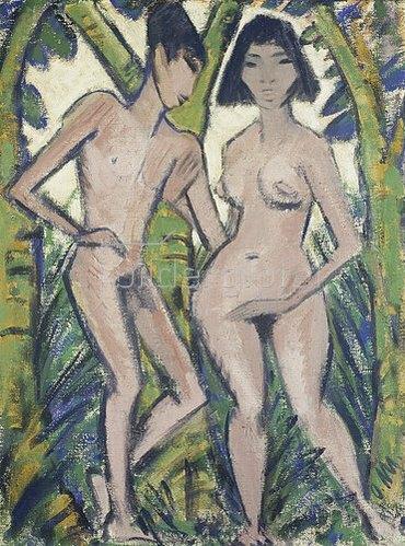Otto Mueller: Adam und Eva.