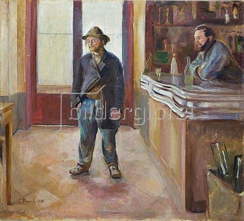 Edvard Munch: In der Schenke. Nach 1890.
