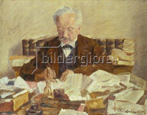 Jakob Nussbaum: Bildnis des Herrn Mamroth. 1901.