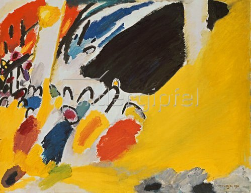 Wassily Kandinsky: Impression III (Konzert). 1911