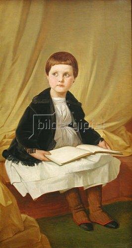 Edward Jakob von Steinle: Bildnis der Tochter Agnes.