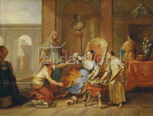 Johann Rudolf Byss: Tod der Kleopatra