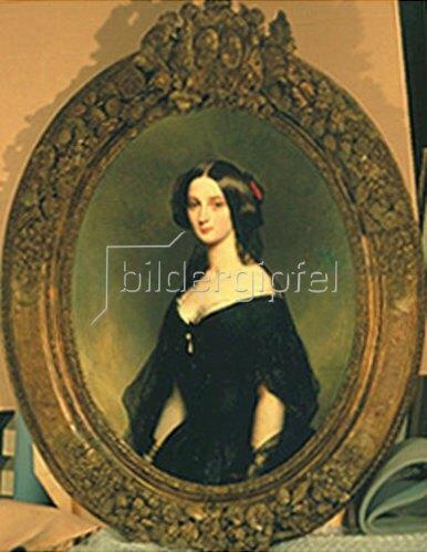 Franz Xaver Winterhalter: Damenportrait. 1845.