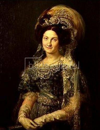 Vicente López: Maria Christina von Borbon