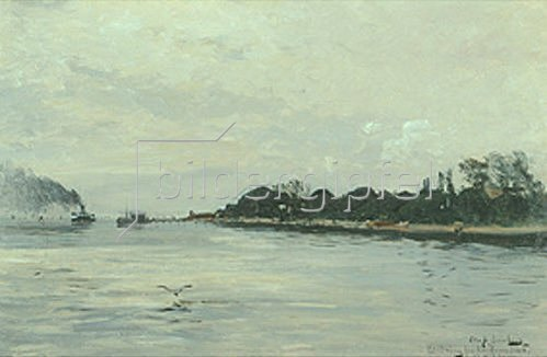 Olof Jernberg: Dänische Küste. 1883.