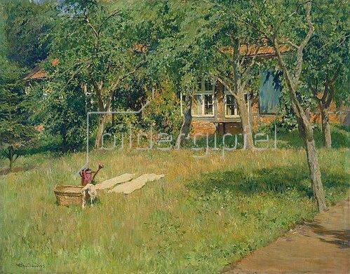 Wilhelm Claudius: Sommer auf dem Lande.