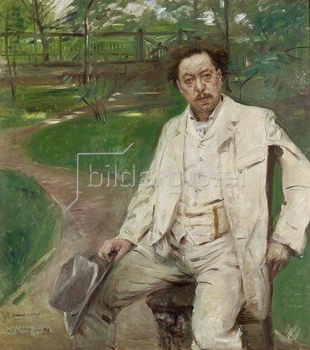 Lovis Corinth: Portrait des Pianisten Conrad Ansorge. 1903