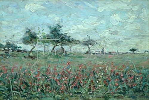 Axel Lindman: Blumenwiese. 1897.
