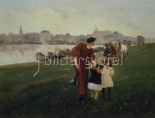 Wilhelm Schreuer: Am Rhein. 1894.