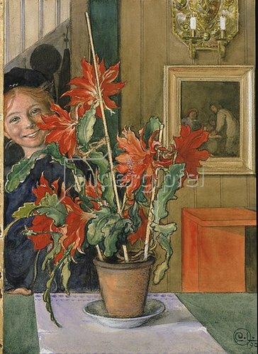 Carl Larsson: Britas Kaktus. 1904.