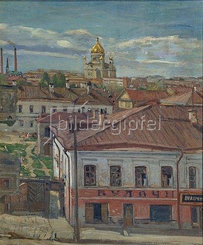 Pjotr Petrowitschev: Blick auf Moskau, Anfang 20. Jahrhundert