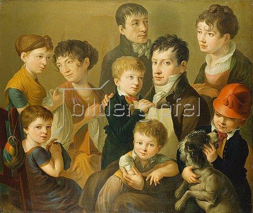Friedrich Wilhelm Schäfer: Familienbildnis.