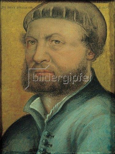 Hans Holbein d.J.: Selbstbildnis. 1542.
