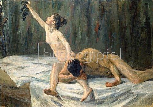 Max Liebermann: Samson und Delila.
