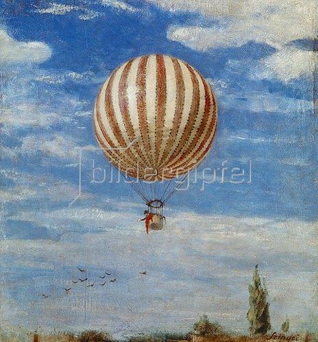 Pál Szinyei-Merse: Der Luftballon. 1882