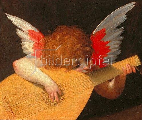 Rosso Fiorentino (Giovanni-B. di Jacopo): Musizierender Engel.