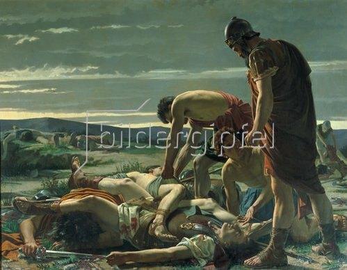 Alcide Segoni: Die Auffindung des Leichnams von Catilina.