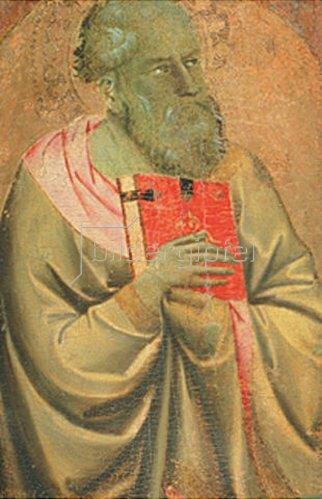 Taddeo Gaddi: Bildnis eines Evangelisten. Um 1333.