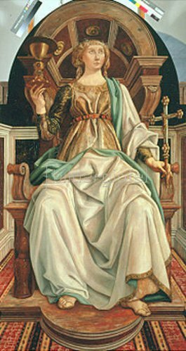 Piero del Pollaiuolo: Der Glaube. Um 1470