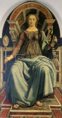 Piero del Pollaiuolo: Die Klugheit. Um 1470.