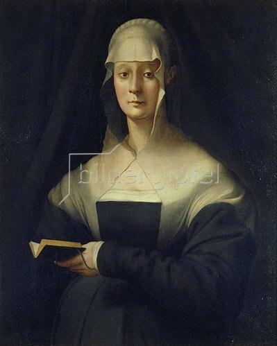 Jacopo Carucci da Pontormo: Bildnis der Maria Salviati. 1537/1543.