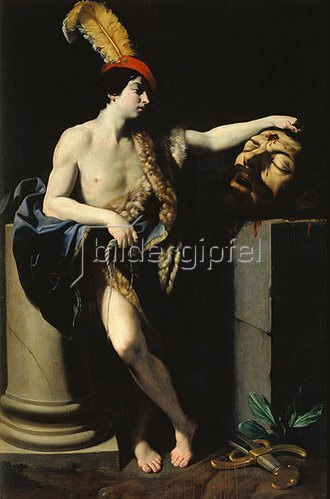Guido Reni: David mit dem Haupt des Goliath.