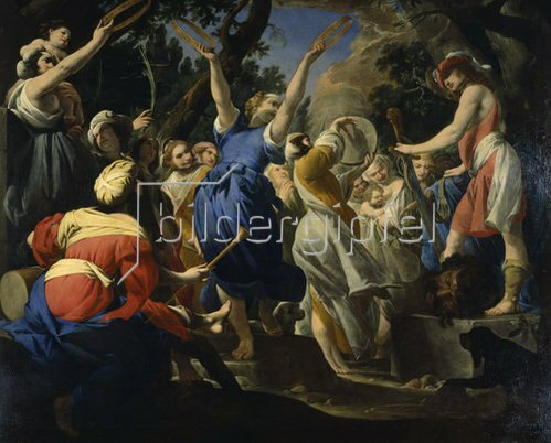 Giovan Battista Spinelli: David feiert ein Fest mit den Hebräern.