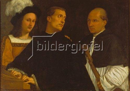 Tizian (Tiziano Vecellio): Das Konzert. 1510