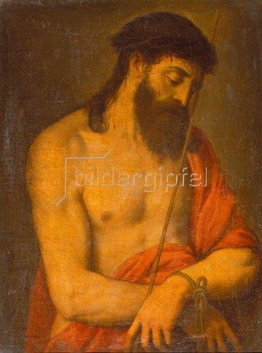 Tizian (Tiziano Vecellio): Ecce Homo.