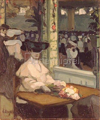 Edmond Lempereur: Warten (Moulin de la Galette)