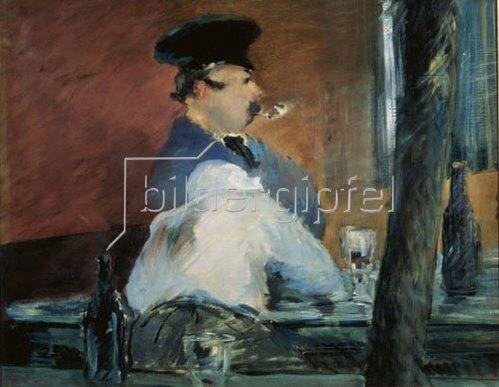 Edouard Manet: Le Bouchon, 1878/1879