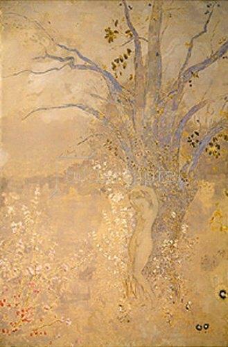 Odilon Redon: Frühling, um 1910