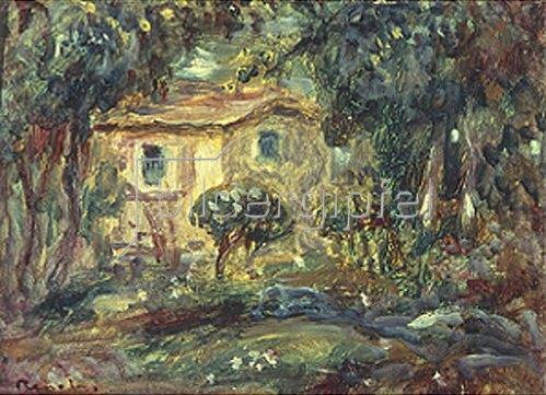 Auguste Renoir: Park mit Haus. 1902