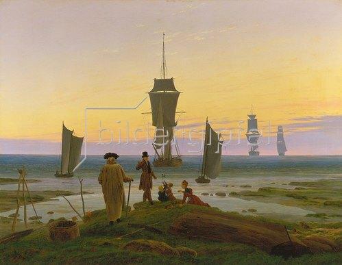 Caspar David Friedrich: Die Lebensstufen. Um 1834