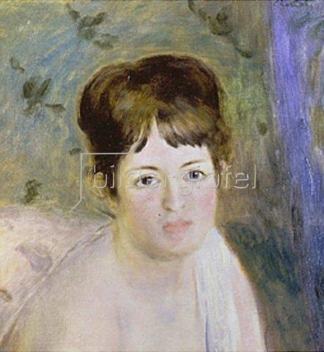Auguste Renoir: Antlitz einer Frau. Um 1876