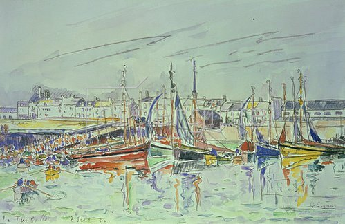 Paul Signac: La Turballe. 1930