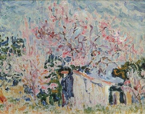 Paul Signac: Frühling in der Provence. 1903