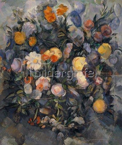 Paul Cézanne: Blumenstrauß. Um 1902.
