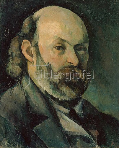 Paul Cézanne: Selbstbildnis. Um 1882/85