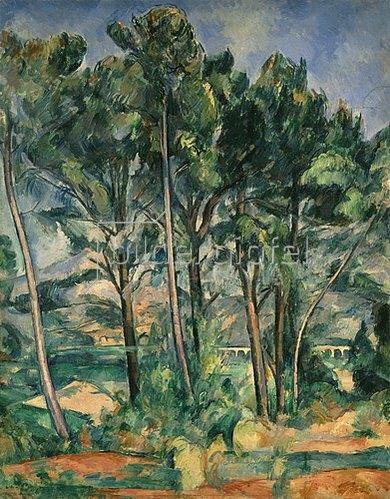Paul Cézanne: Der Aquädukt. 1898/1900