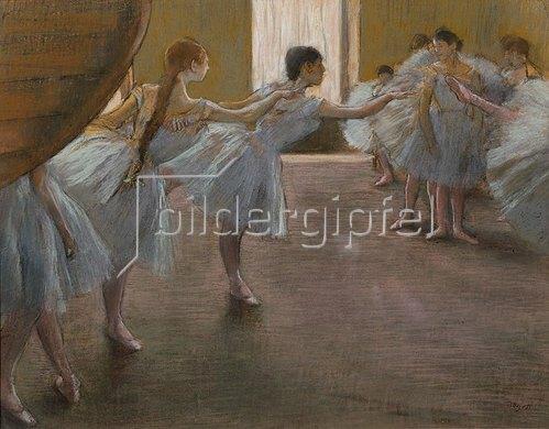 Edgar Degas: Ballett-Übungen. 1885/1890