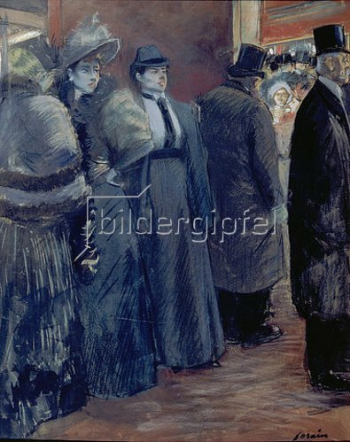 Jean Louis Forain: Im Theater-Foyer