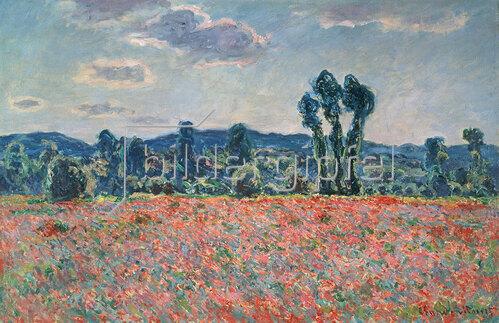 Claude Monet: Mohnfeld. 1880
