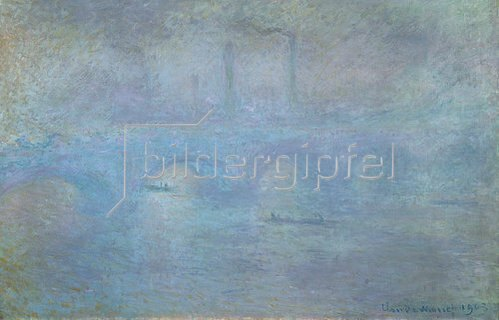 Claude Monet: Die Waterloo-Brücke im Dunst. 1903
