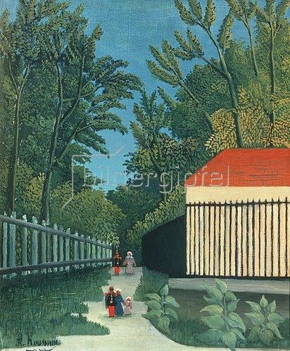 Henri Rousseau: Im Park Montsouris. 1910