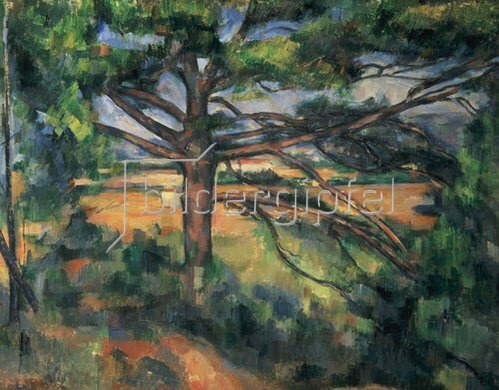Paul Cézanne: Große Pinie. 1895/1897.
