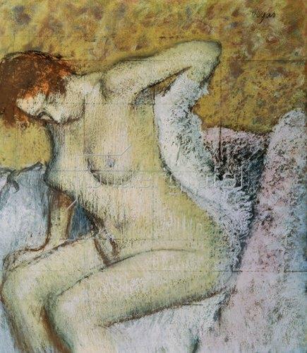 Edgar Degas: Nach dem Bade. 1889